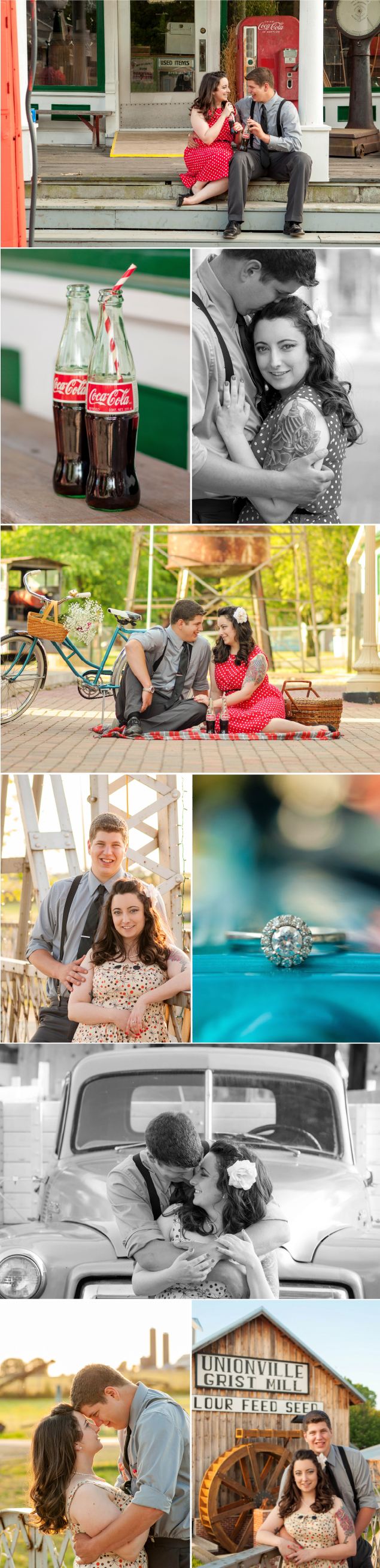 Symco_Wisconsin_Engagement_Rockabilly_Vintage