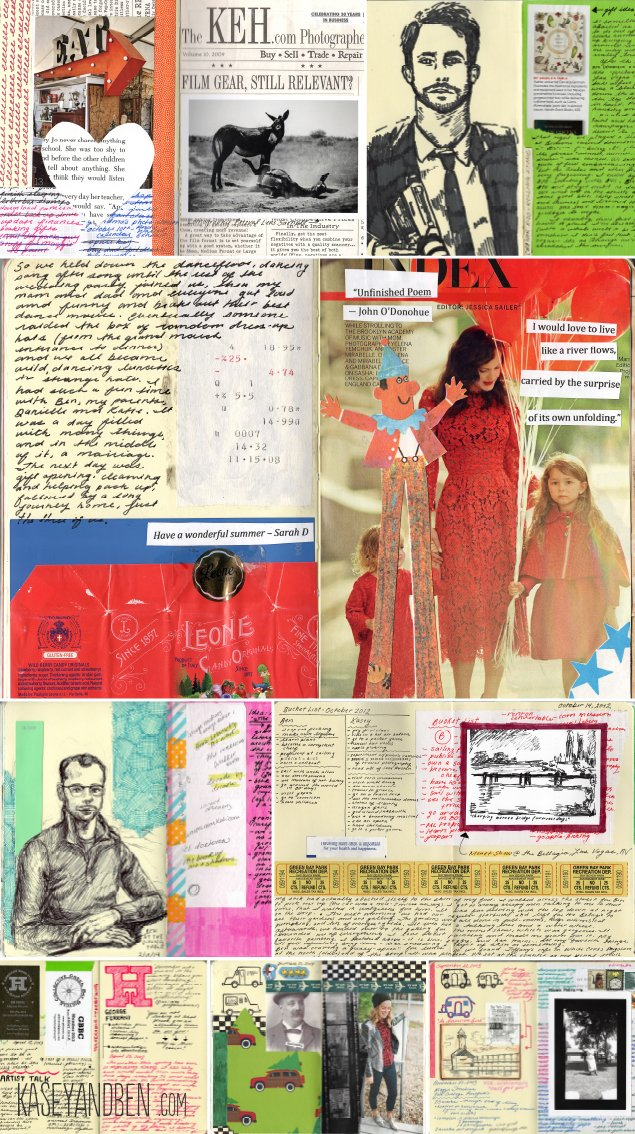 Idea_Book_Art_Journal_Green_Bay_Collage_Drawing