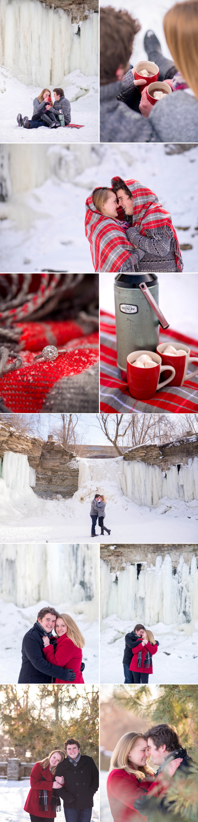 Wisconsin_Winter_Frozen_Waterfall_Engagement_Session_Christmas_Green_Bay_Wequiock_Falls_Snow