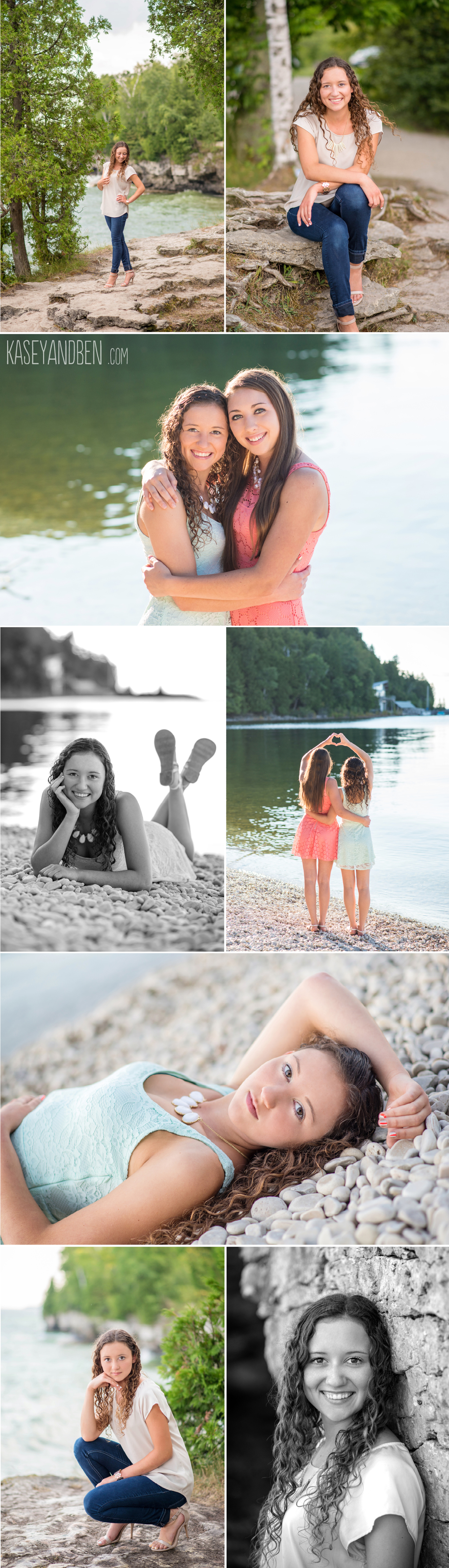 Cave-Point-Senior-Photos-Door-County-Photographer-Pebble-Beach-Senior-Portraits-Green-Bay