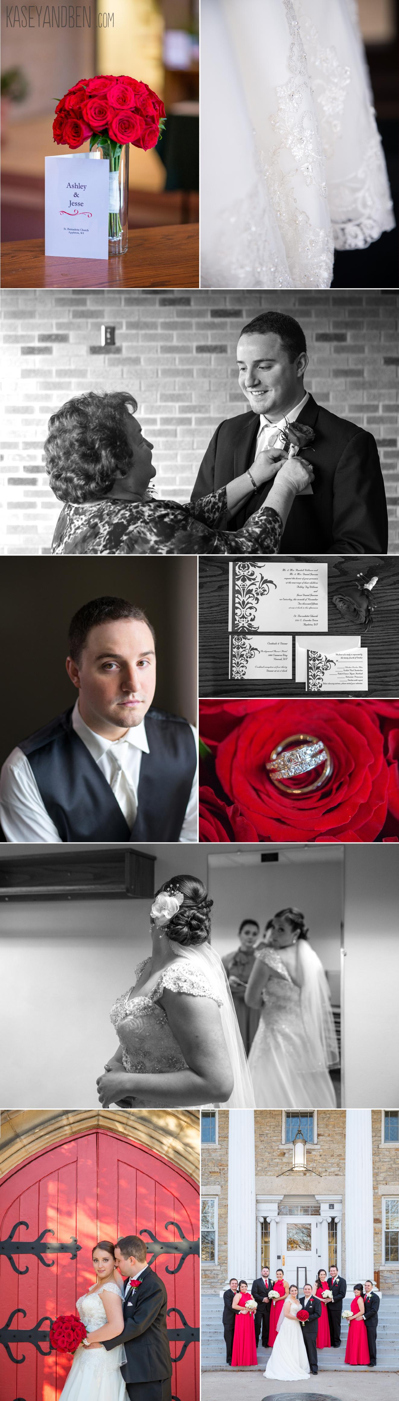 Appleton-Doty-Park-Wedding-Neenah-Fall-Church-Photography-November-Catholic-Green-Bay2