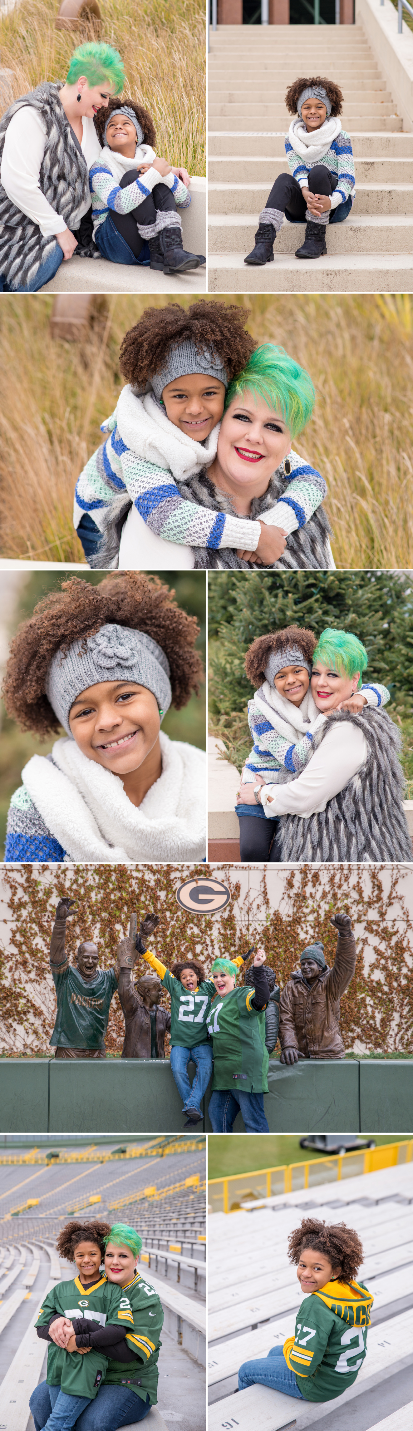Lambeau-Field-Green-Bay-Family-Photography-Packers-Photographer-Winter-Kids-Children
