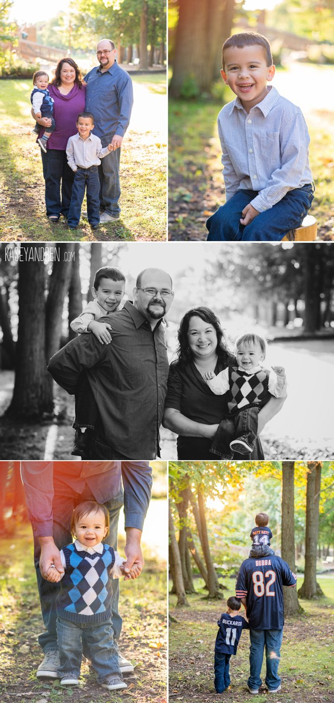 Green-Bay-Family-Photographer-Door-County-Bay-Shore-Park-Fall-Sunset-Children-Kasey-and-Ben-1