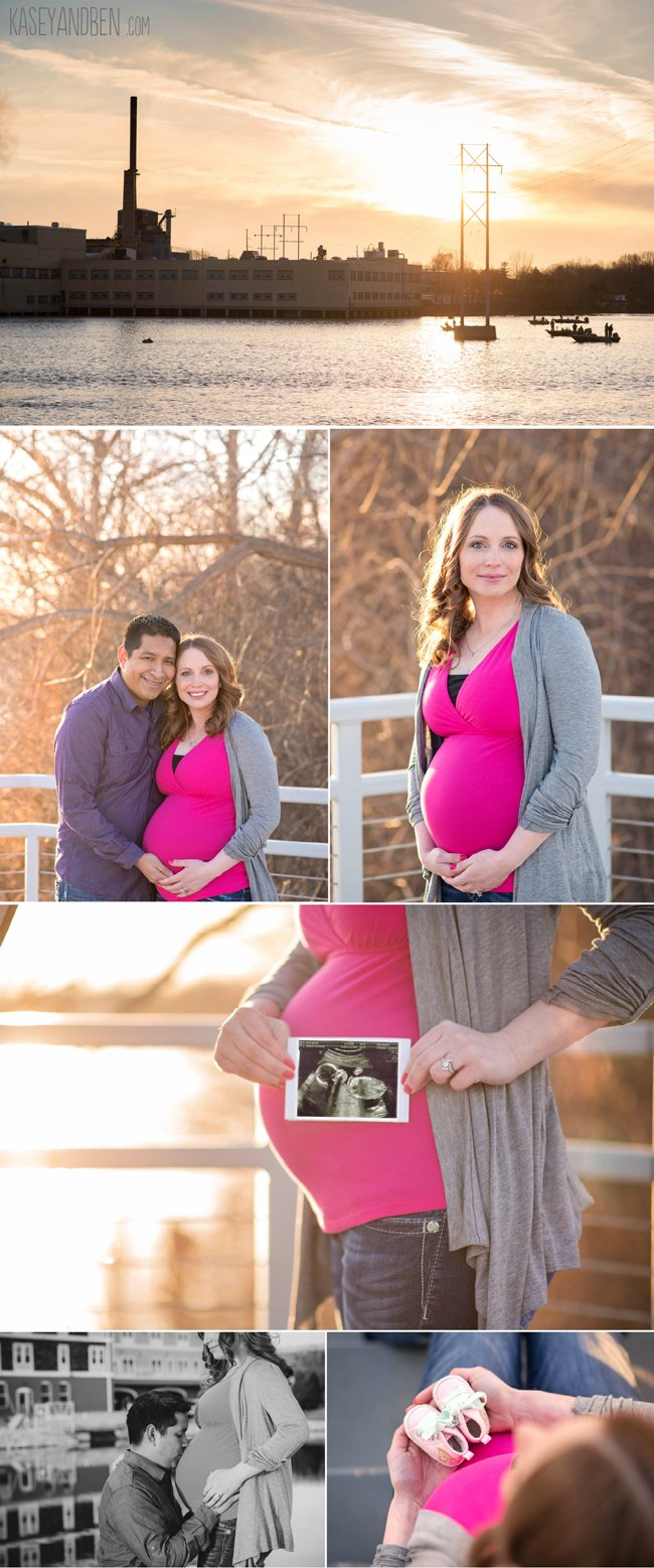 Green-Bay-Maternity-Photos-Voyeger-Park-Outdoor-De-Pere-Waterfront-Kasey-and-Ben-Sunset-2