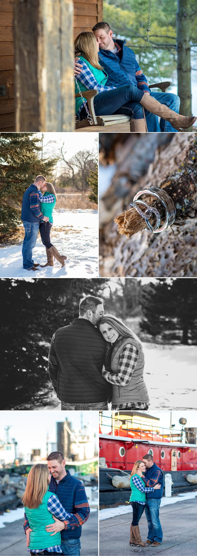 Door-County-Elopement-Wedding-Intimate-Cabin-Country-Woods-Winter-Wisconsin-Photography-2