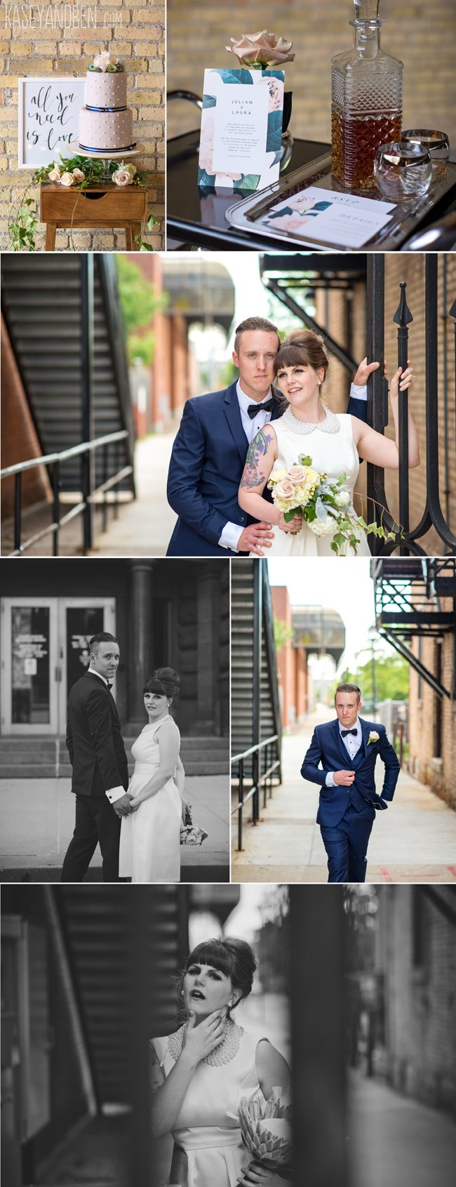 Green-Bay-Wedding-Gather-On-Broadway-Elopement-Downtown-Small-Intimate-Photographer-Photography-Midcentury-Modern-2