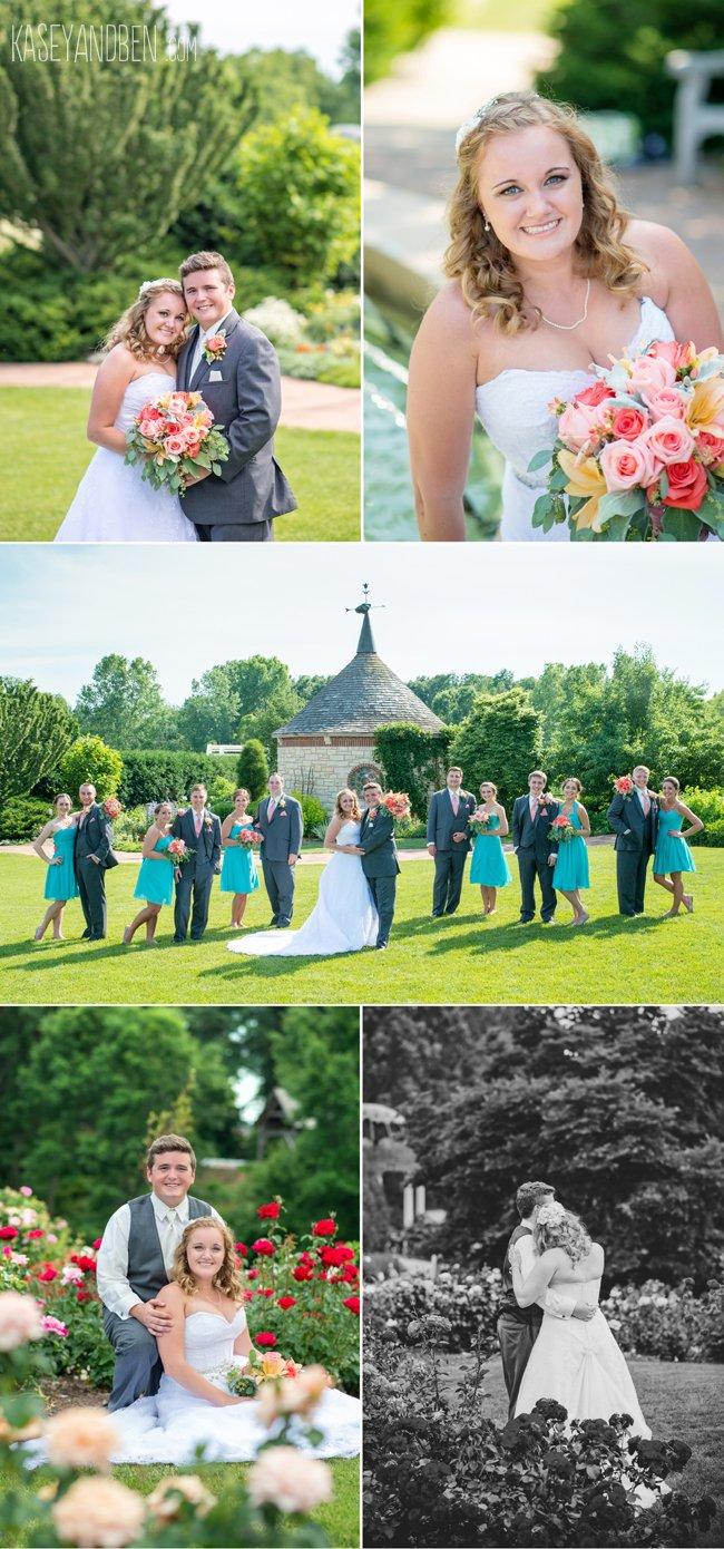 Weddings Jenessa Joe At Green Bay Botanical Gardens Kasey And Ben Photography