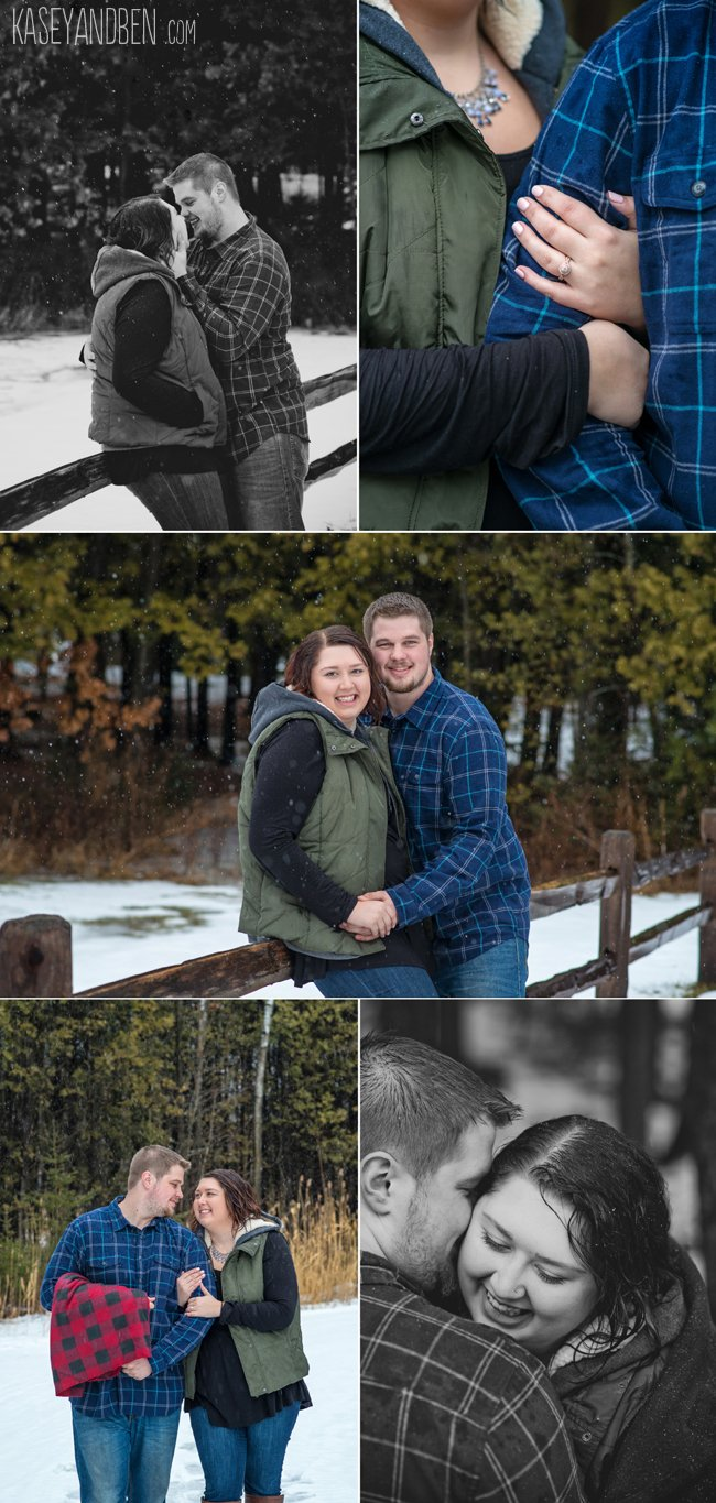 Winter-Engagement-Green-Bay-Photos-Suamico-Wedding-Photographer-Wisconsin-Snow-Couples-Woods-Rustic-New-Zoo-Reforestation-Camp-1