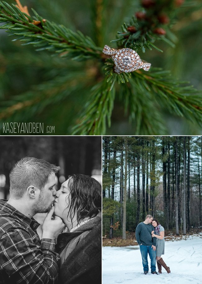Winter-Engagement-Green-Bay-Photos-Suamico-Wedding-Photographer-Wisconsin-Snow-Couples-Woods-Rustic-New-Zoo-Reforestation-Camp-2