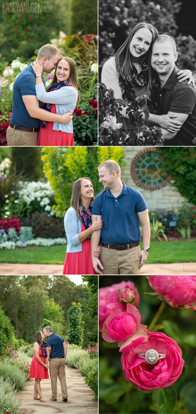 Engagements: Lauren U0026 Zach, Green Bay Botanical Gardens