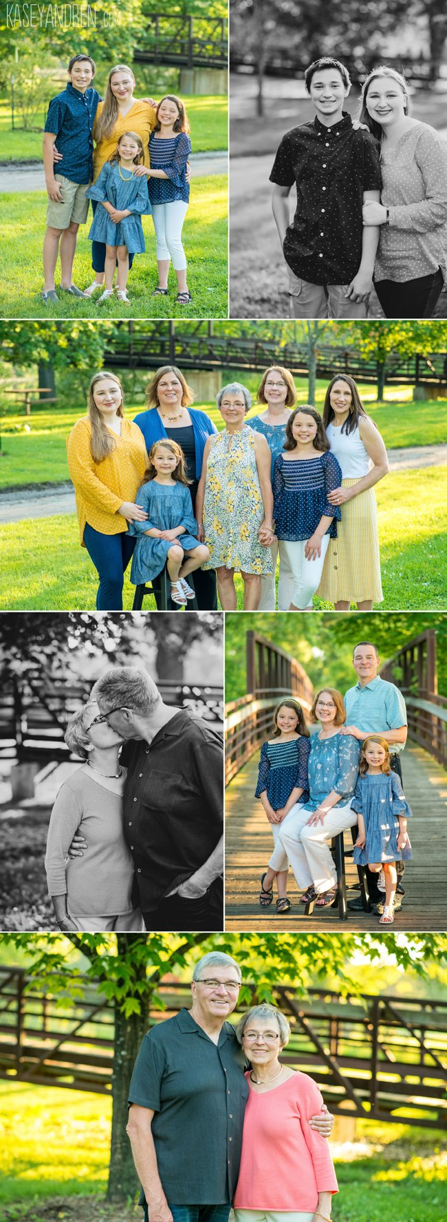 Green Bay Outdoor Family Photos