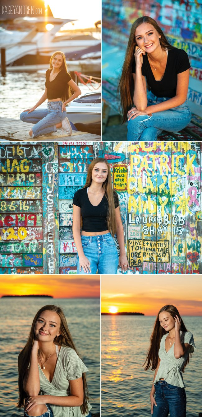 Door County Sunset Photos Senior Pictures
