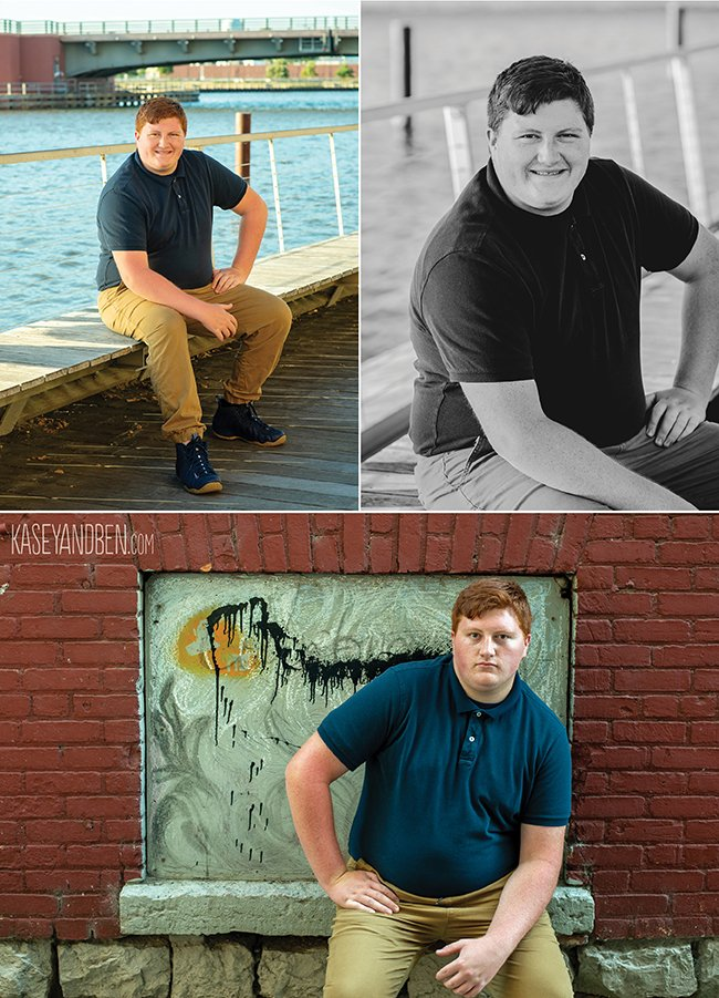 Downtown Green Bay Senior Photos