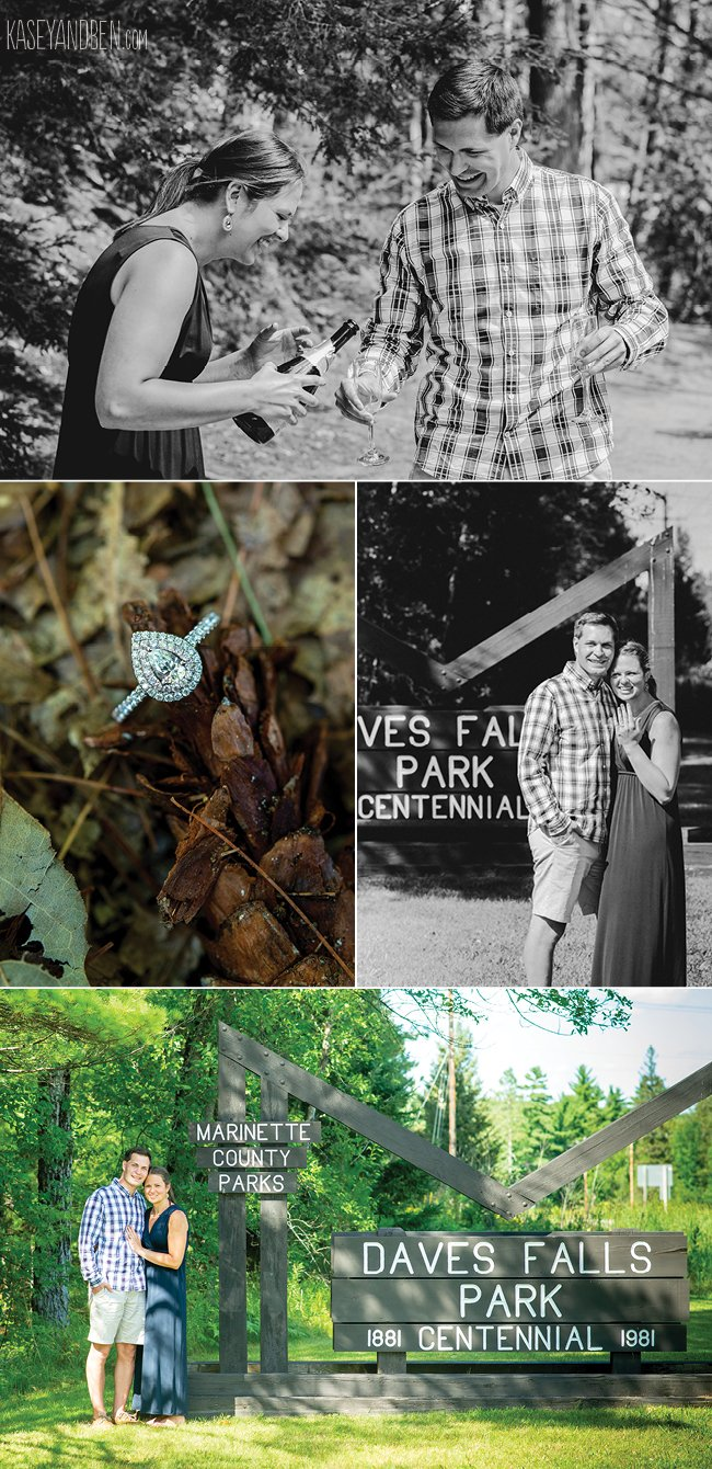 Northern Wisconsin engagement photographer