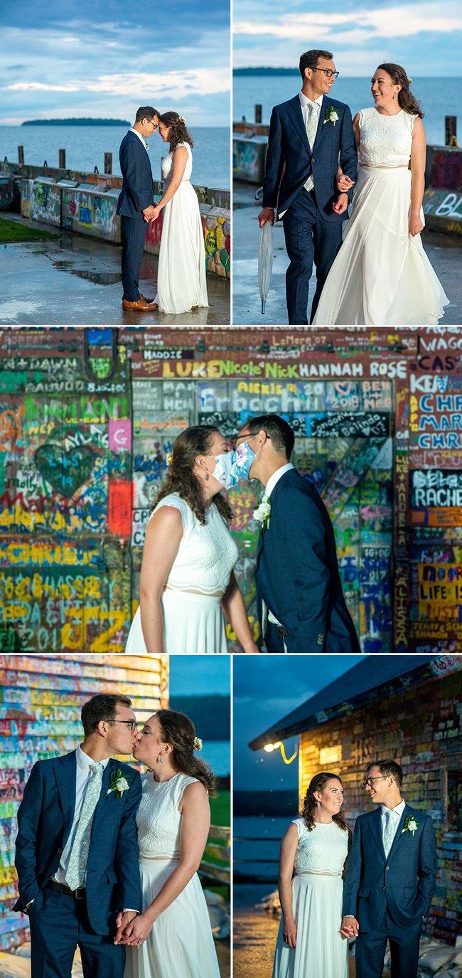 Anderson Dock Wedding Door County